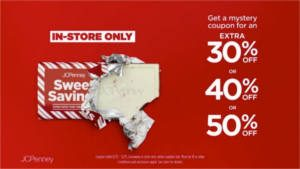 FREE Chocolate Bar at JCPenney