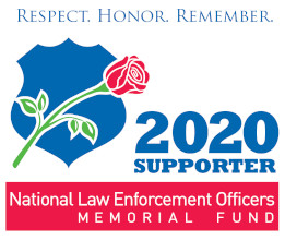 FREE 2020 National Law Enforcement Officers Memorial Fund Supporter Decal