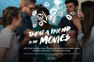 AT&T Treat a Fried to the Movies