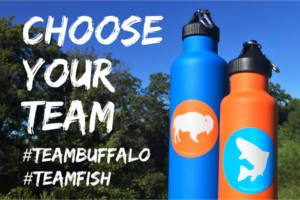 FREE Tribe Provisions Buffalo & Fish Stickers