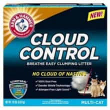 FREE Arm & Hammer Cloud Control Cat Litter