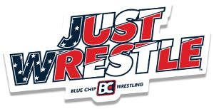 FREE Blue Chip Wrestling Sticker
