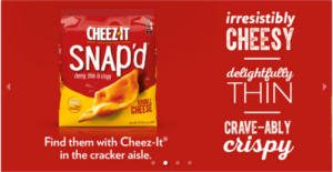 FREE Cheez-It Snapd Chat Pack