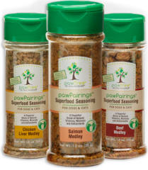 FREE pawTree pawPairings Superfood Seasoning Samples for Dogs & Cats