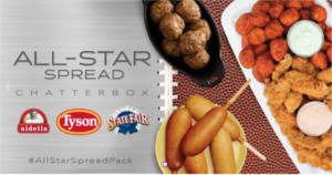 FREE Tyson All-Star Spread Chat Pack