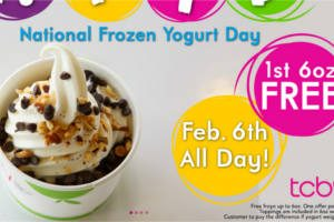 FREE FROYO at TCBY
