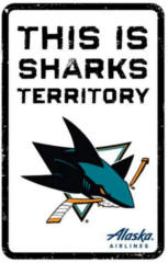 FREE San Jose Sharks Territory Sign