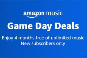 Amazon Music Game Day Deal