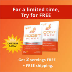 FREE Boost Power Immune Support Sample