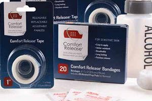 FREE Comfort Release Bandages & Tapes Sample