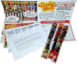 FREE Country Meats Fundraising Sample Pack