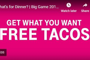 FREE Taco at Taco Bell for T-Mobile Customers Every Week