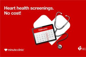 FREE Heart Health Screening at CVS