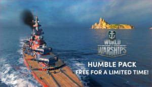 FREE World of Warships Humble Pack