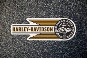 FREE Harley Davidson Battle of the Kings Sticker