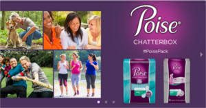 FREE Poise Chat Pack