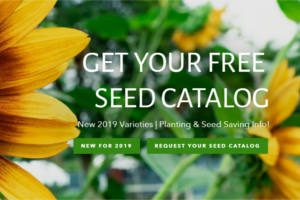 FREE Sow True Seed 2019 Catalog & Planting Guide