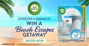 FREE Air Wick Pure Beach Escapes Chat Pack