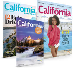 FREE California Visitors & Road Guide, and State Map