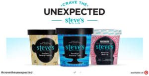 FREE Steves Ice Cream Crave The Unexpected Party Pack