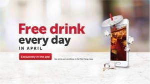 FREE Drink in April