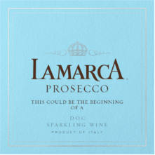 FREE Custom Lamarca Prosecco Bottle Labels