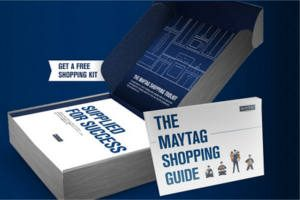 FREE Maytag Shopping Kit with Pen and Measuring Tape