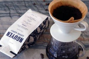 FREE Nguyen Coffee Supply Coffee Sample & Stickers