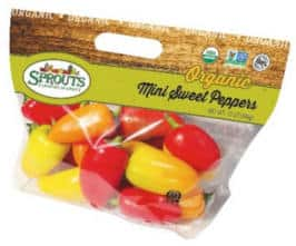 FREE Organic Mini Sweet Peppers at Sprouts Stores