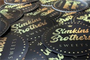 FREE Simkins Brothers Sweets Sticker