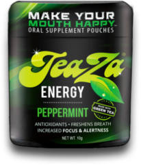 FREE TeaZa Tobacco Free Energy Pouch Sample