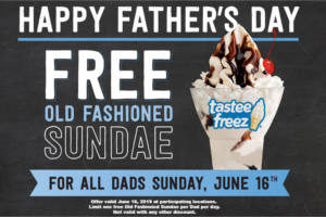 FREE Old Fashioned Sundae for Dads at Wienerschnitzel