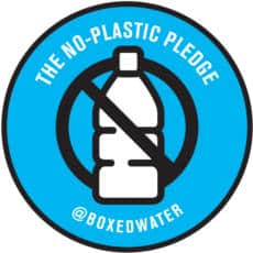 No-Plastic Pledge Stickers