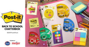 FREE Post-it Back to School Chat Pack