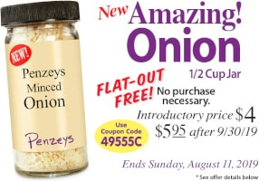 Penzeys Minced Onion