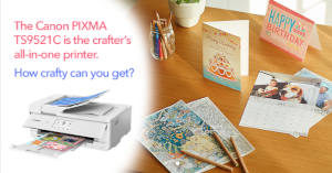FREE Canon Get Crafty with Canon Party Pack