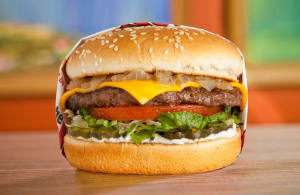 FREE Charburger with Cheese
