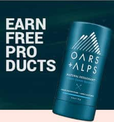 FREE OARS + ALPS Personal Hygiene Products