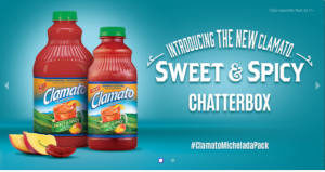 FREE Clamato Sweet and Spicy Chat Pack