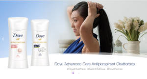 FREE Dove Advanced Care Antiperspirant Chat Pack