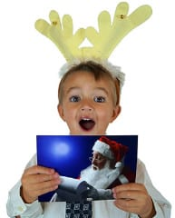 FREE Personalized Mailed Postcard from Santa
