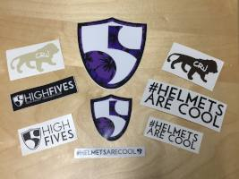 FREE High Fives Foundation Stickers