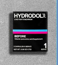 FREE Hydrodol Hangover Relief Supplement Sample