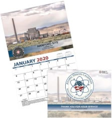 FREE Nuclear Care Partners 2020 Atomic Heroes Calendar
