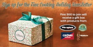 FREE Fine Cooking Gift Box
