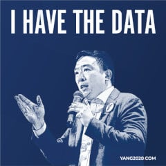 FREE Andrew Yang 2020 I Have The Data Sticker