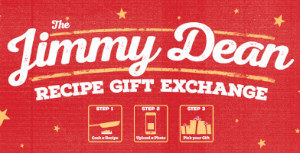 FREE Jimmy Dean Holiday Gift for Recipe Submission
