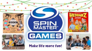 FREE Tryazon Spin Master Holiday Game Night Party Pack