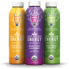 Garden of Flavor Cold-Pressed Energy Elixir