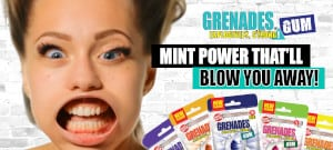 FREE Grenades Gum Sample